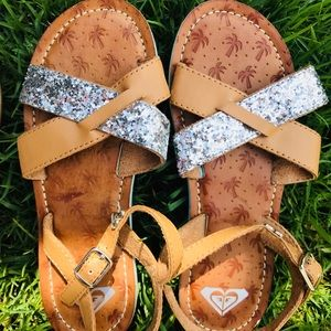 76ae2f4c13571 Roxy Girl Shoes - New Roxy Girl Faux Leather Summer Sandals